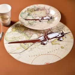 Set de table thème voyage