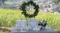 Mariage Champêtre, Nature et Romantique