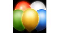Ballons à led et confettis