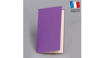 Carte menu en couleur